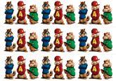 Papel Arroz Alvin e os Esquilos Faixa Lateral A4 007 1un