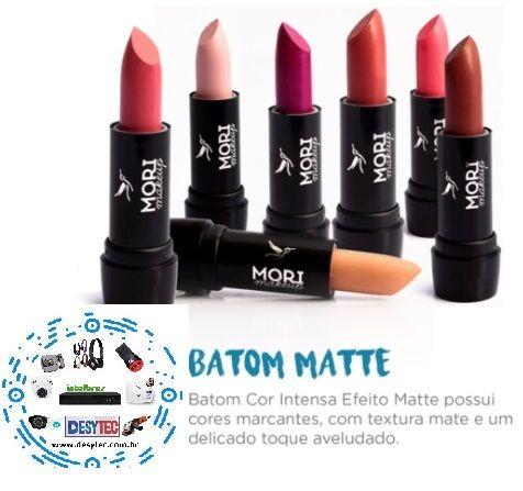 Batom Matte Mori Makeup