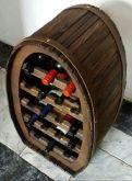 Adega De Madeira Porta Vinhos 18 Garrafas