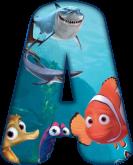Alfabeto - Procurando Nemo 1 - PNG