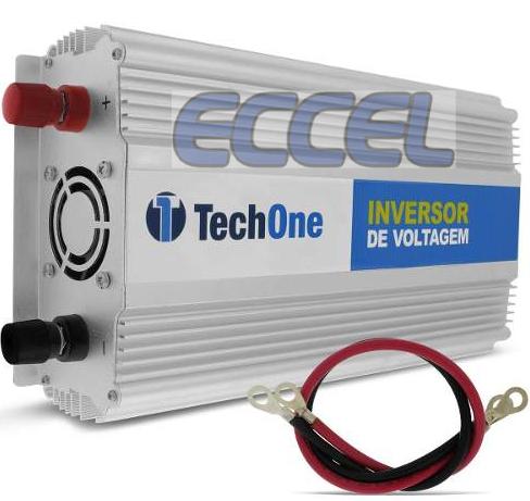 2000W Inversor Onda Senoidal Modificada 12VDC / 220VAC