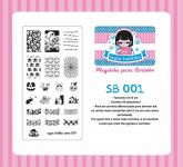 Placa Sugar Bubbles - SB001
