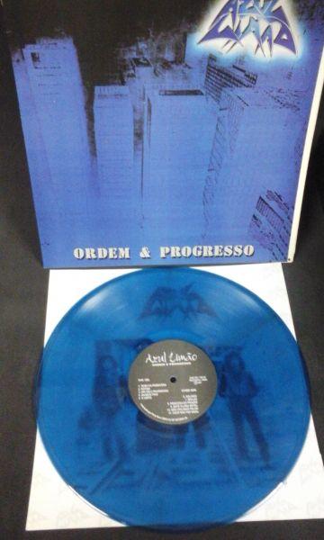 LP 12 - Azul Limão - Ordem & Progresso