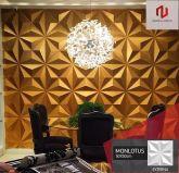 Monlotus - Revestimento Placas Decorativas 3D Board - Para Áreas Externas e Internas