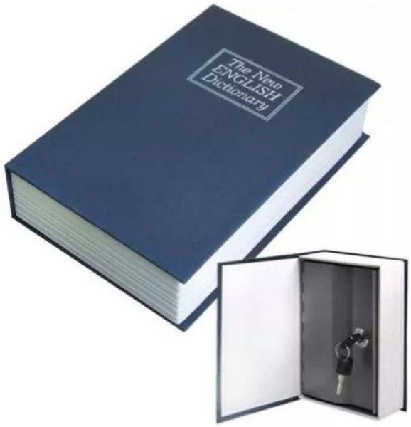 Livro Cofre Dicionário 18cm