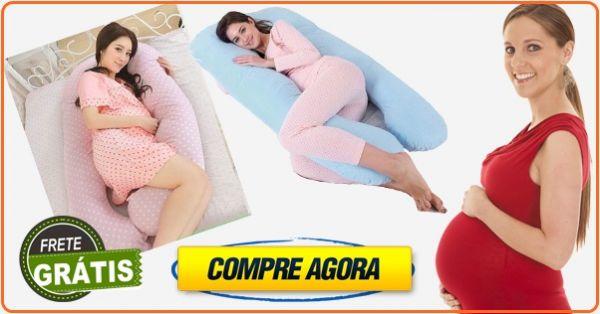 Travesseiro de Corpo  Formato V