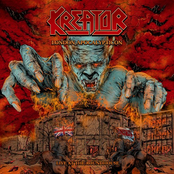 CD Kreator – London Apocalypticon – Live at The Roundhouse