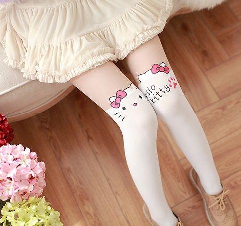 Meia Calça Hello Kitty 1