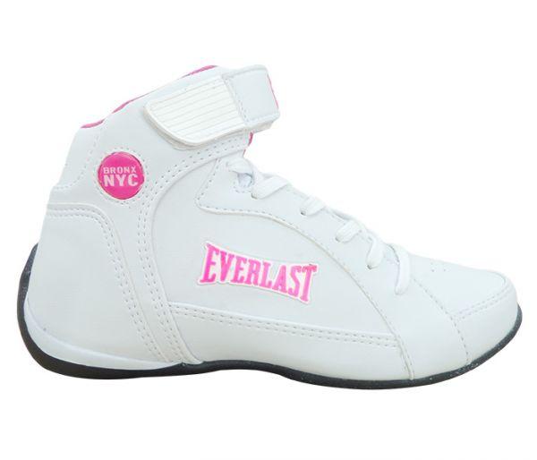 2e5294a3a90 Tênis Feminino Everlast Jump Branco e Rosa - App Box