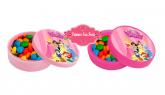 Latinha de Plástico Princesas da Disney