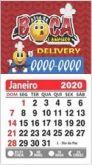 300 imas de geladeira com calendário