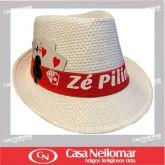 021152 - Chapéu de Napa Decorado Zé Pelintra