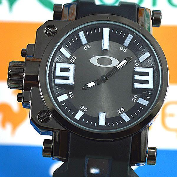 Relógio Oakley Gearbox Neymar Preto Fundo Preto Masculino à prova D´água 100c4395d9
