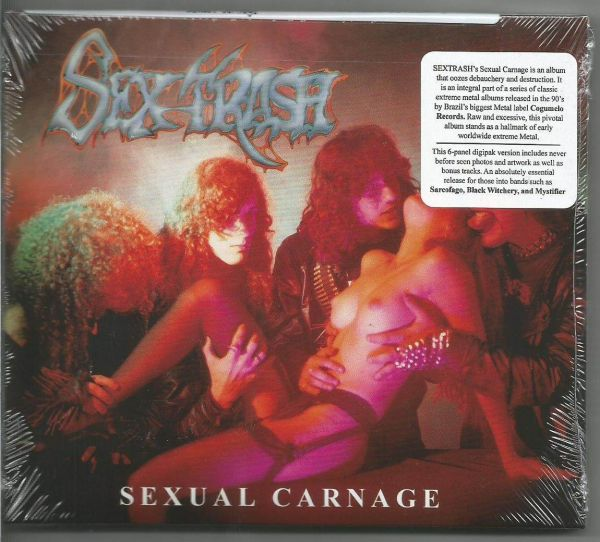 CD - Sextrash - Sexual Carnage (Importado)
