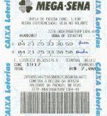 MEGA-SENA com 10 dezenas em 10 apostas 4, 5 ou 6 pontos 100%