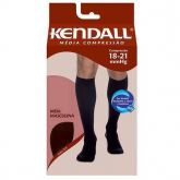 Meia Kendall 18-21mmHg Média Compressão 3/4 Masculina