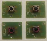Chave Táctil em Placa de Circuito Impresso - Arduino/PIC (4 peças)