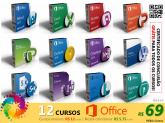 COMBO MICROSOFT OFFICE - 12 Cursos Completos + Certificado de Conclusão + FRETE GRÁTIS!