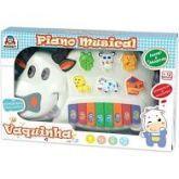 Brinquedo Para Bebe - Piano Musical Vaquinha