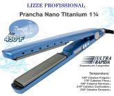 Prancha / Chapinha Profissional Lizze® Nano Titanium 1 ¹/4