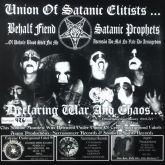 BEHALF FIEND  - SATANIC PROPHETS   Split Ep 7