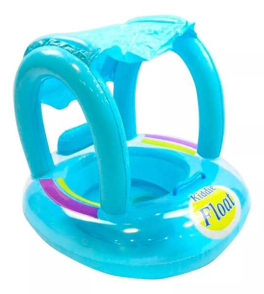 Boia Fralda Inflável Infantil Bebê Brinquedo Piscina Parasol