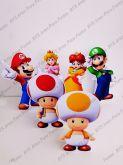 6 Displays de mesa - Super Mario