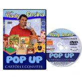 DVD Vlady Ensina - Cartoes e Convites POP UP