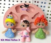 Kit mini fofos 03 + 60 pares olhos res.