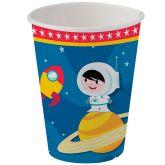 Copo de Papel 200 ml Show da Luna Astronauta Festcolor
