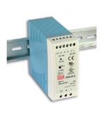 MDR-60-12 Fonte Chaveada Industrial Montagem em Trilho DIN 12VDC / 5A Mean Well