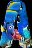 Alfabeto - Procurando Nemo 4 - PNG