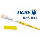 Pincel 843 Tigre Chato