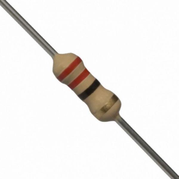 COD 013 - Resistor 22R 5% (1/4W)