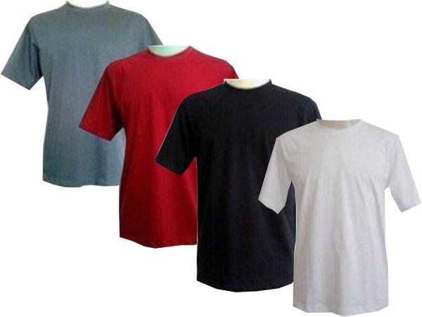 32f355b2be Camisetas lisas (unidade) - kairos Estamparia - Brindes e Presentes