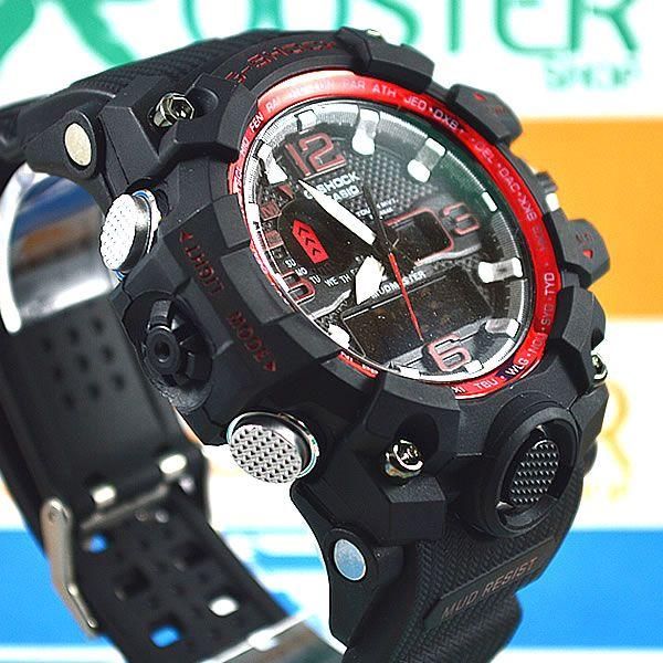 67002d5e7be Relógio Casio G-Shock Mudmaster Preto Pulseira Preta Masculino ...