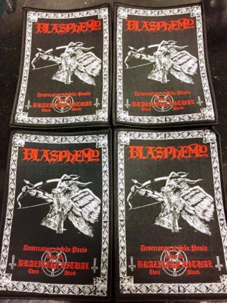 BLASPHEMY - Live Ritual - Friday the 13th / Victory (Son of the Damned)  - CASSETE -  (Double Casset
