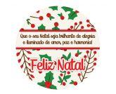 Papel Arroz Natal Redondo 006 1un