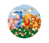 Papel Arroz Pooh Redondo 006 1un