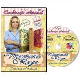 DVD Encadernação Artística - Costura Macramê