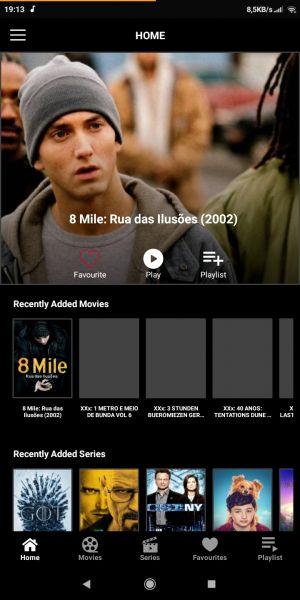 Diversos Filmes e series. Smarters player