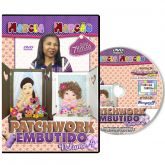 DVD - Patchwork Embutido - Volume 4