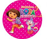 Papel Arroz Dora Redondo 004 1un