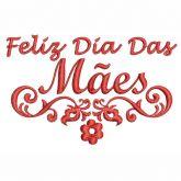 Feliz Dia Das Mães Matriz para Bordar