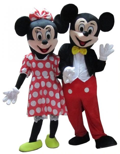 Mickey e Minnie Mascotes Ref1994
