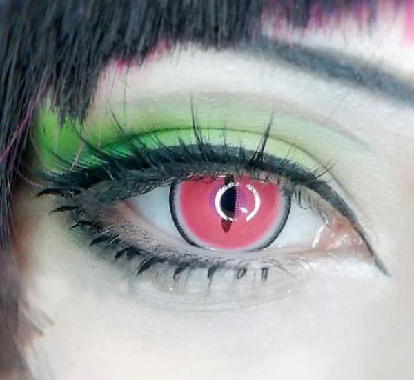 .Nezuko Demon Eyes - Rosa - 14.5mm