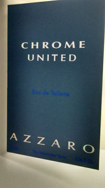 Amostra Perfume Azzaro Chrome United 1,2 ml