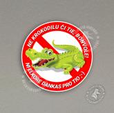 Glumarko - Ne krokodilu ĉi tie