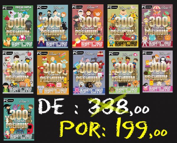 11 DVDS PACOTE PREMIUM DE ARQUIVOS EM CAMADAS