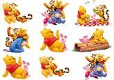 Papel Arroz Pooh Faixa Lateral A4 009 1un